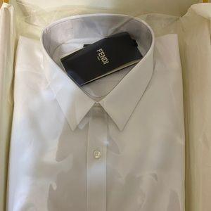Fendi Men's Button Down Shirt